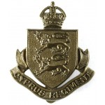 Cyprus Regiment Brass Cap Badge